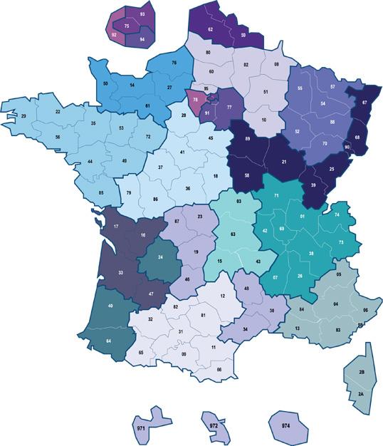 Distributeur Kaufel île de France, Toutes la France
